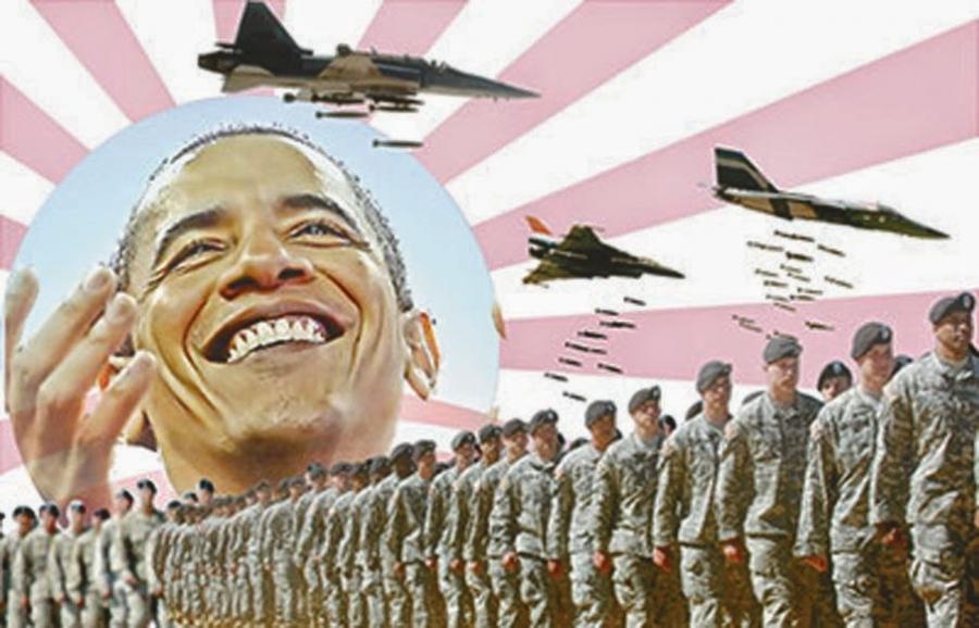 ¡Rechazamos los ataques aéreos de EEUU a Irak!