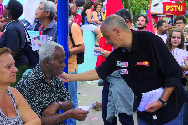 El PSTU y su candidato Zé María en el último tramo de la campaña
