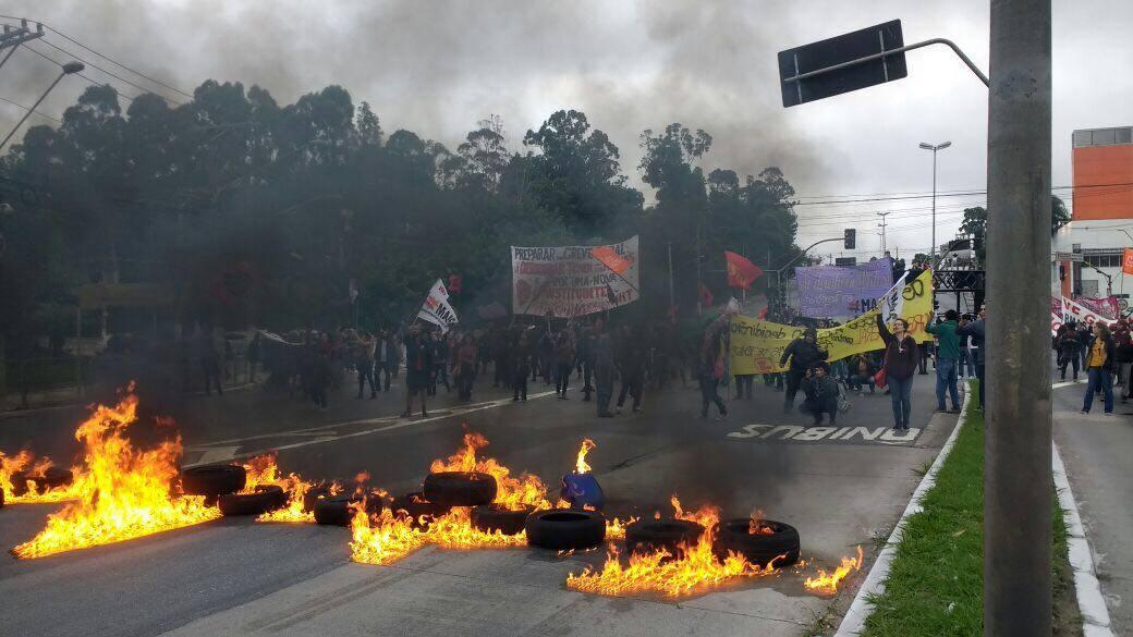 La mayor Huelga General que vivió Brasil