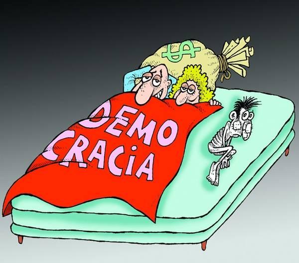 Los trabajadores y la «democracia para ricos»