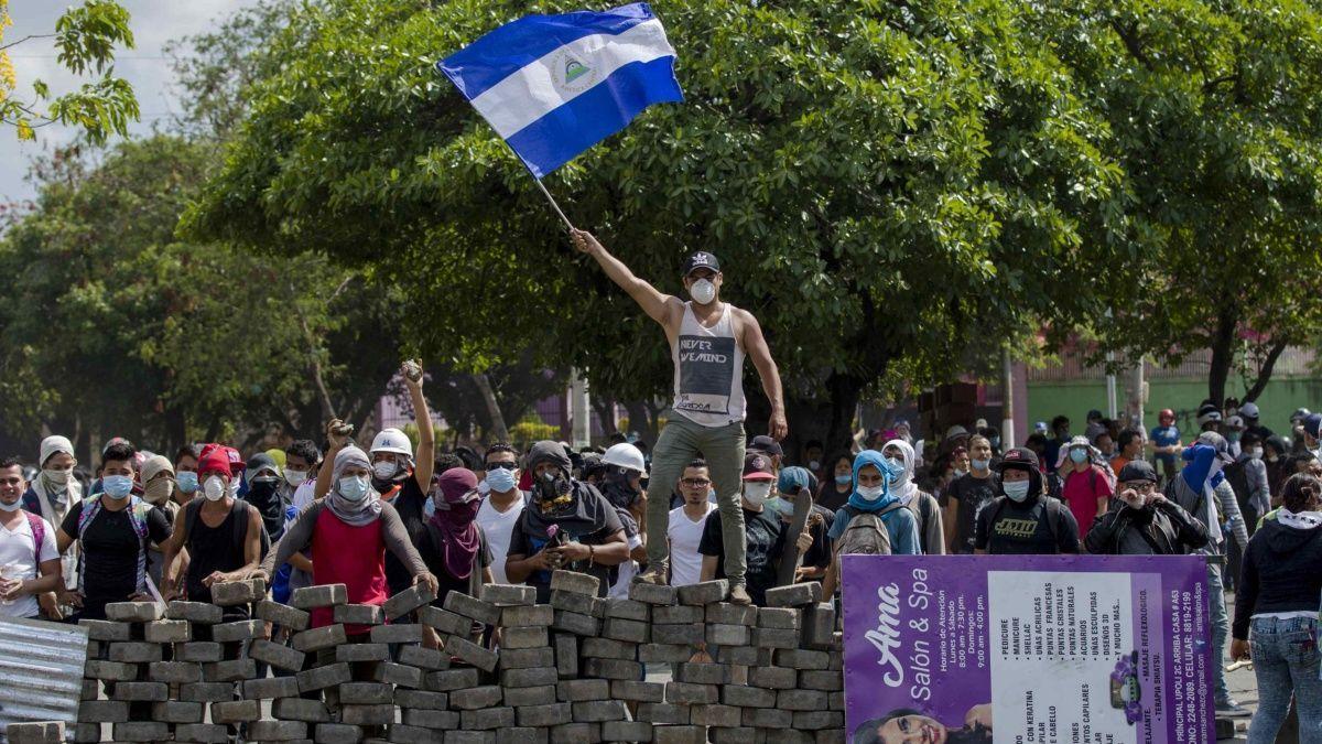 Una insurrección popular que amenaza con la dictadura de Daniel Ortega