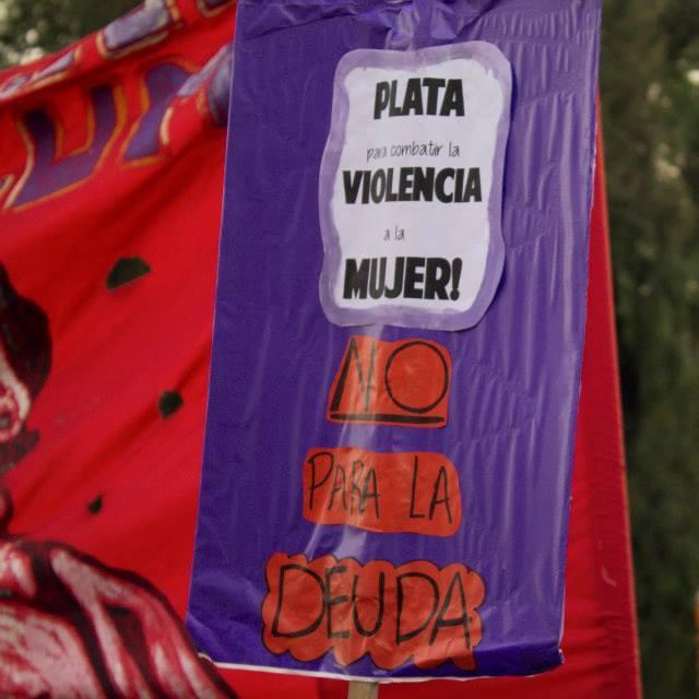 Con Macri y FMI no hay Ni una menos