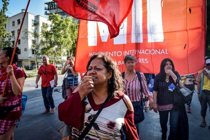 ¡Libertad a los presos por luchar!  ¡Rechazamos la denuncia de Carabineros contra María Rivera!
