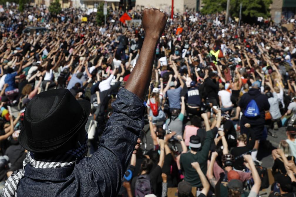 ¡NO PUEDO RESPIRAR!LA IRRUPCION MASIVA DE PROTESTAS CONTRA EL RACISMO Y LAS DESIGUALDADES EN ESTADOS UNIDOS