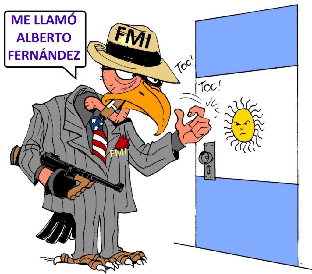 LA DEUDA CON EL FMI ES IMPAGABLE
