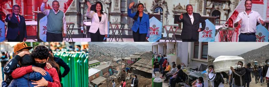 ¡CERREMOS EL PASO AL FUJIMORISMO, LA CORRUPCIÓN, LA EXPLOTACIÓN Y EL SAQUEO DE NUESTRAS RIQUEZAS!