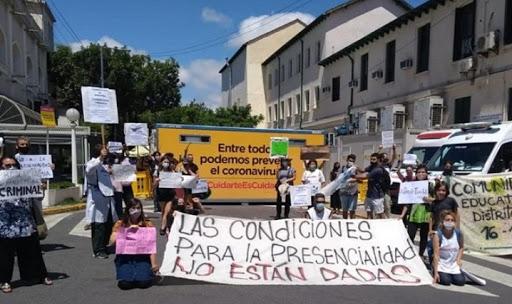 UNIR LA RESISTENCIA HASTA IMPONER EL CIERRE DE ESCUELAS