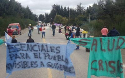 LA SALUD NO SE RINDE: CINCUENTA DÍAS DE LUCHA Y NUEVE DE CORTE DE RUTAS