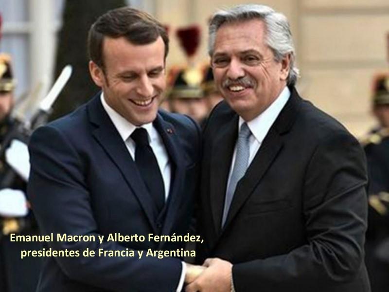EL CLUB DE PARÍS Y EL FMI AGRADECEN A FERNÁNDEZ