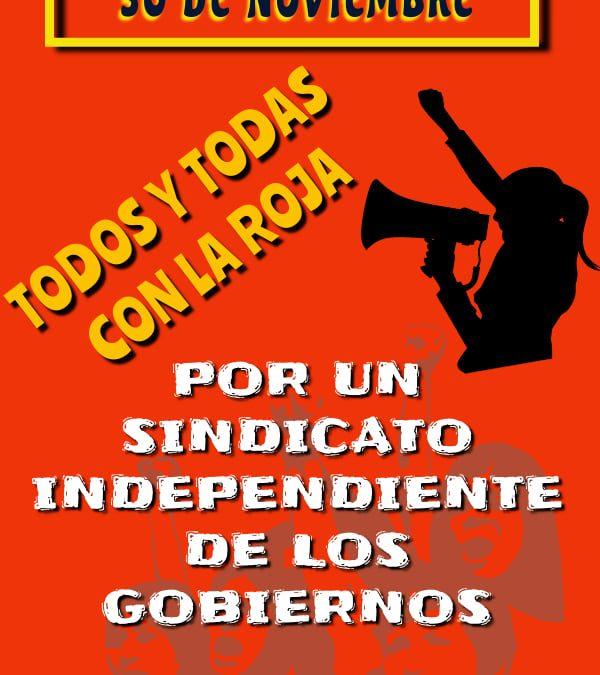 TIERRA DEL FUEGO- ELECCIONES SUTEF: «LA ROJA» UNA LISTA CON HISTORIA