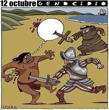 12 DE OCTUBRE: SAQUEO, COLONIZACIÓN Y RESISTENCIA